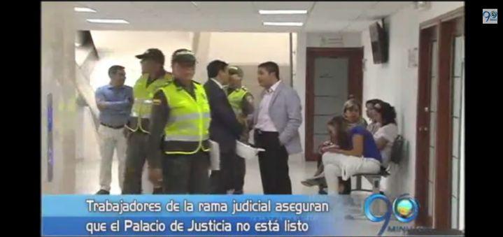 Empleados se niegan a trasladarse al nuevo Palacio de Justicia