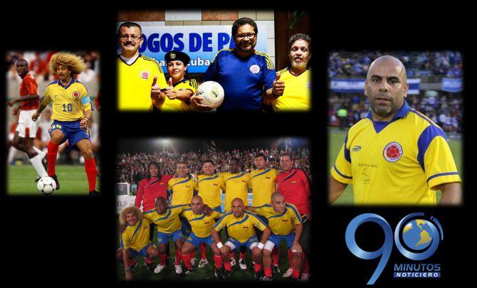 Las Farc podrían jugar el 'Picado por la Paz' con los veteranos del fútbol