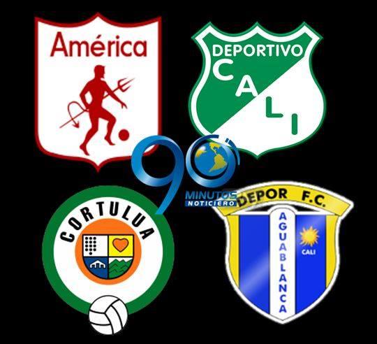 Vea la programación de los partidos de fútbol de los equipos vallecaucanos