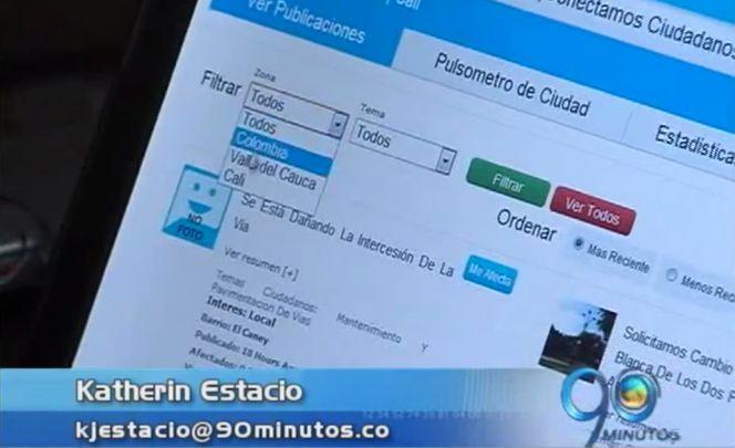 Portal web facilita a los caleños poner quejas y reclamos a la Alcaldía