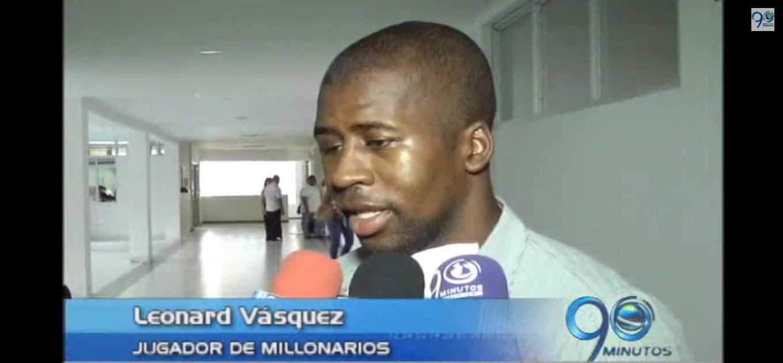 Médicos calificaron de milagrosa la recuperación del jugador Leonard Vásquez