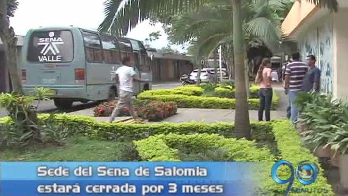 Sena de Salomia estará cerrado por tres meses por obras de mantenimiento