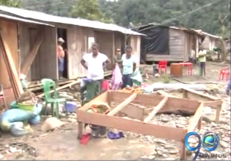 Sismo en Chocó causo represamiento de aguas