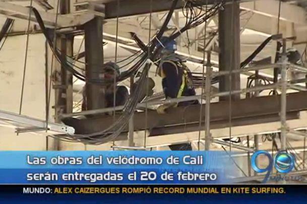 Obras del Velódromo de Cali estarán listas el 20 de febrero