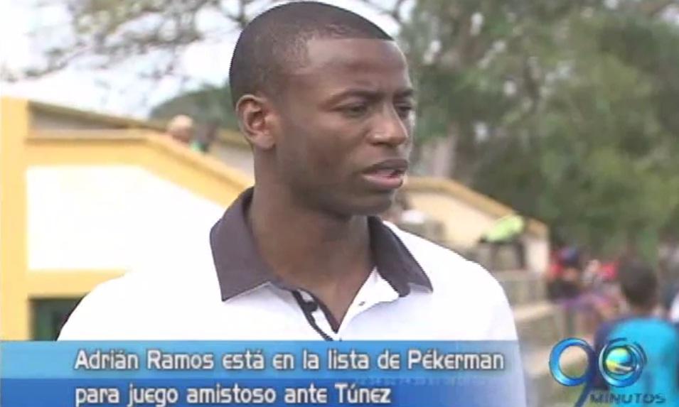 Ramos será convocado por Pékerman para el amistoso contra Túnez