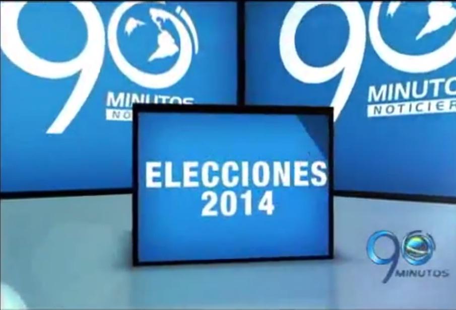 Agenda Electoral 2014 de 90 Minutos