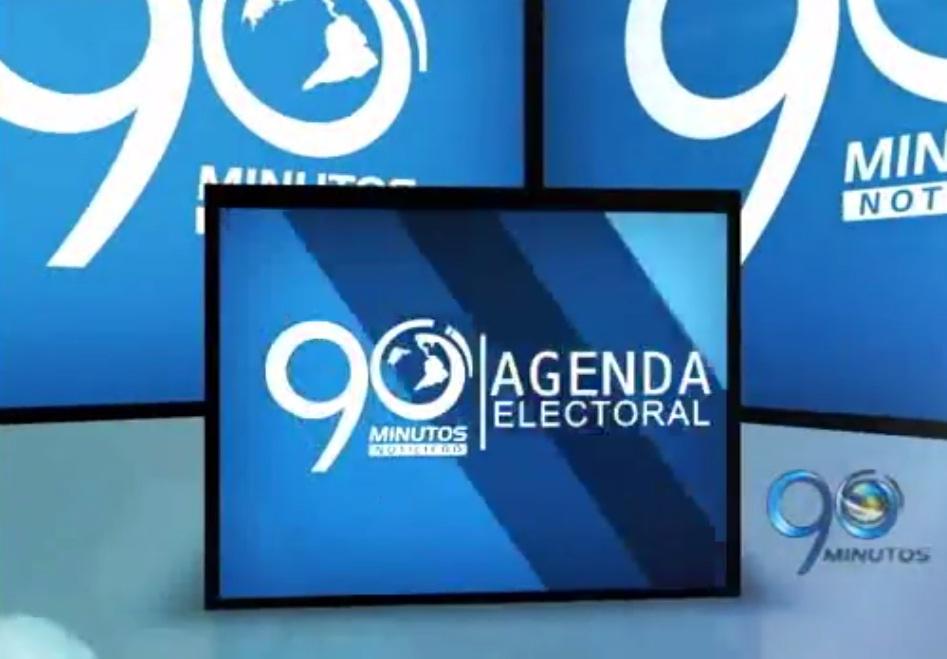 Agenda Electoral 2014 de 90 Minutos del 21 de Febrero