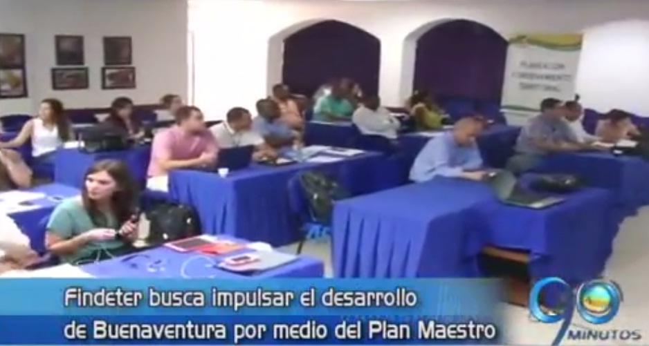 Findeter propone impulsar el desarrollo de Buenaventura con un plan maestro