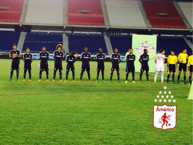 América perdió ante Unión Magdalena en el estadio Metropolitano
