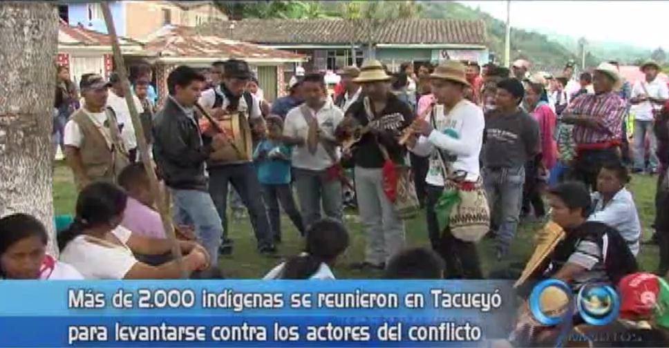 Indígenas del Norte del Cauca piden no hacer parte del conflicto armado