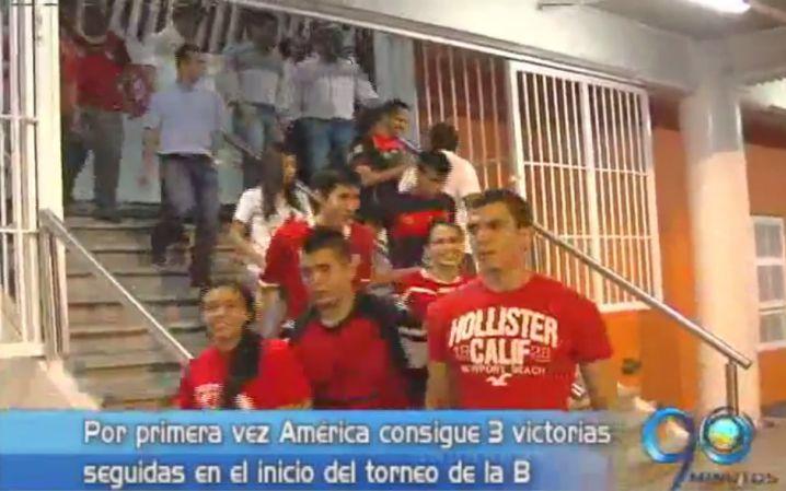 La hinchada del América se ilusiona con su equipo en cada partido