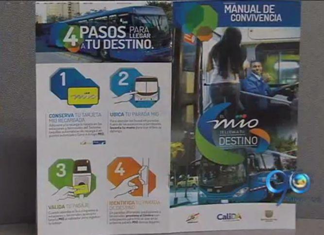 Metrocali presenta manual de convivencia del MIO