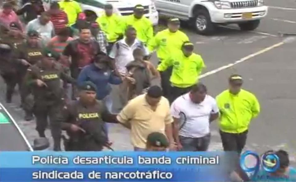 Policía desarticula banda internacional de narcotráfico