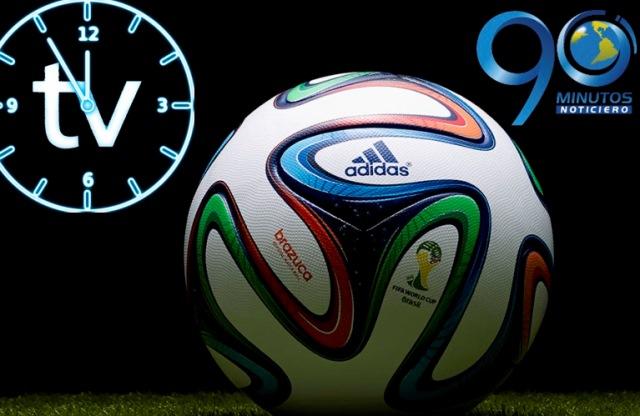 Programación partidos de futbol del miércoles  12 de febrero