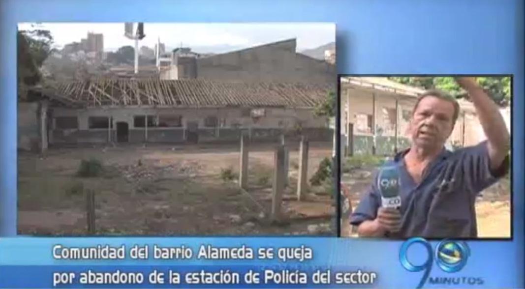 Habitantes barrio Alameda denuncian abandono en estación de Policía
