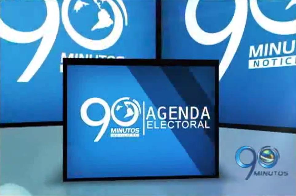 Agenda Electoral 2014 de 90 Minutos: propaganda política