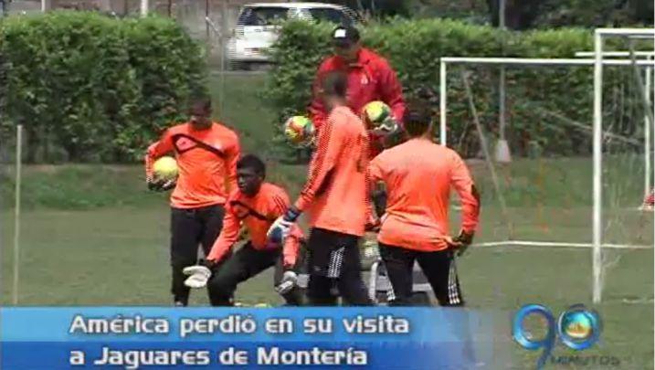 América cayó ante Jaguares de Montería, pero siguen liderando la tabla