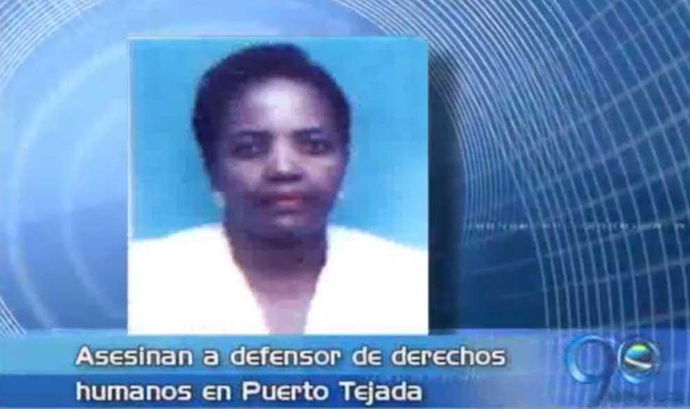 Asesinan líder defensora de los derechos humanos en Cauca