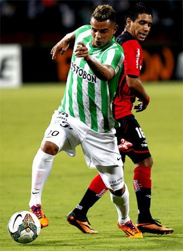 El Atlético Nacional salío victorioso ante el Newells en Medellín