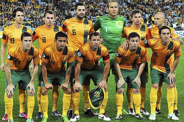 Australia será la primera selección en pisar territorio brasileño