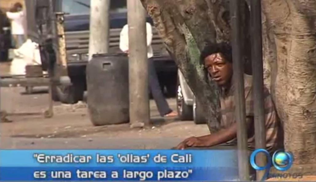 Autoridades entregan primer balance de la erradicación de las 'ollas' en Cali