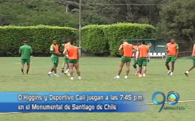 Deportivo Cali perdió ante O'Higgins por Copa Libertadores en Chile