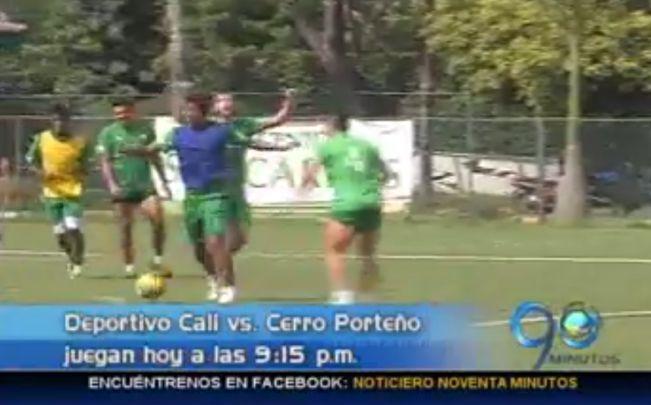 Deportivo Cali se enfrentará esta noche ante Cerro Porteño
