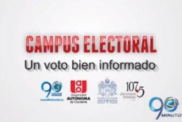 Este lunes inició Campus Electoral, un voto bien informado
