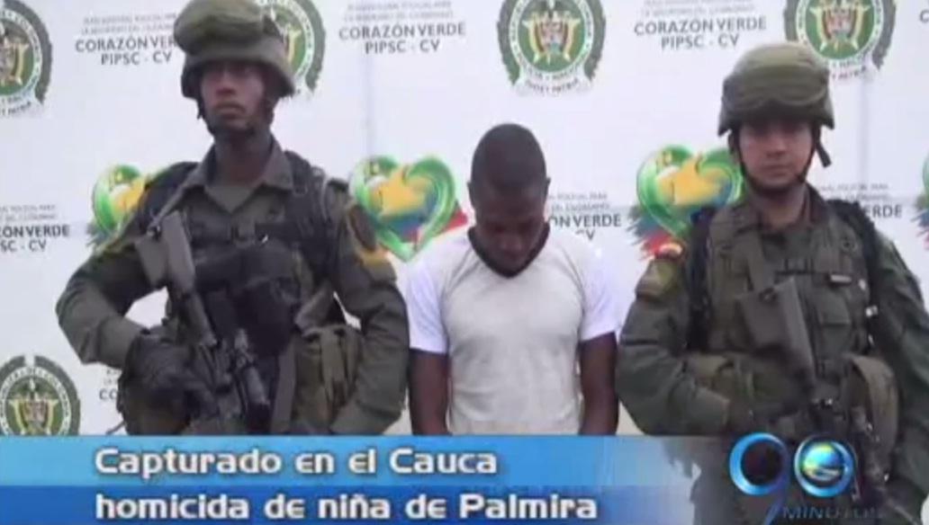 Capturan a violador y asesino de niña de Palmira