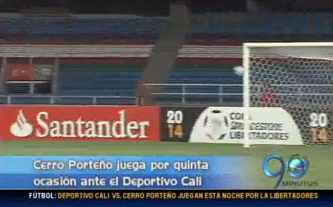 Técnico de Cerro Porteño reconoce al Cali como rival de cuidado