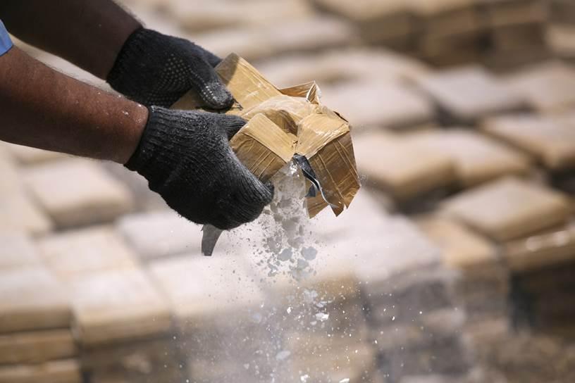 Incautan caleta con 89 kilogramos de cocaína en Chocó