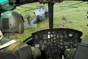 Accidente de helicóptero militar dejó tres muertos y dos heridos