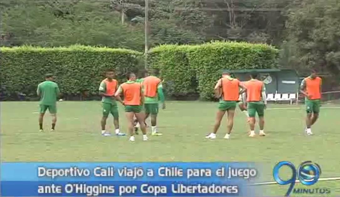 Deportivo Cali viajó a Chile para su partido ante O'Higgins