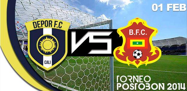 Dépor FC empató ante el Barranquilla y logró un punto en el Pascual