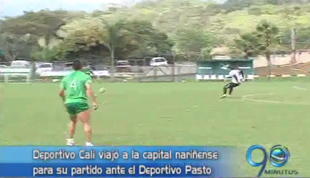 Deportivo Cali viajó a Pasto con novedades en su nómina
