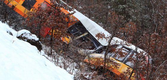 Aparatoso accidente en los Alpes franceses dejó dos muertos y nueve heridos