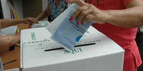 Encuesta  revela que el voto en blanco es una de la tendencias favoritas