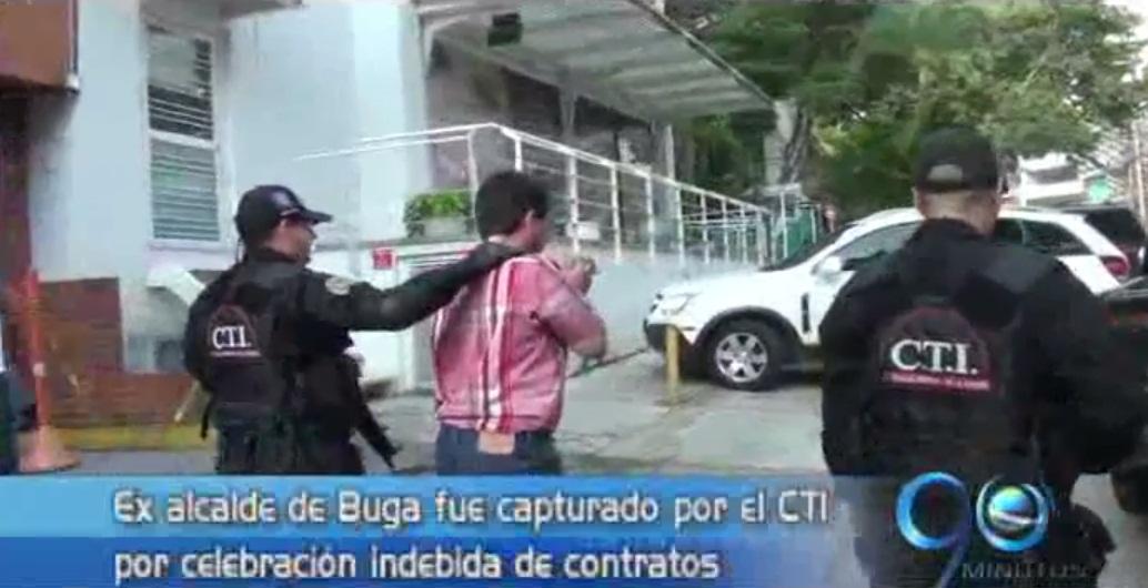 Autoridades detienen al ex alcalde de Buga, Freddy Libreros