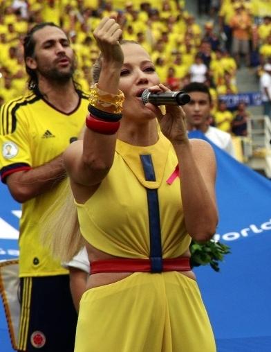 Fanny Lu interpretará el himno nacional en el mundial de Brasil 2014