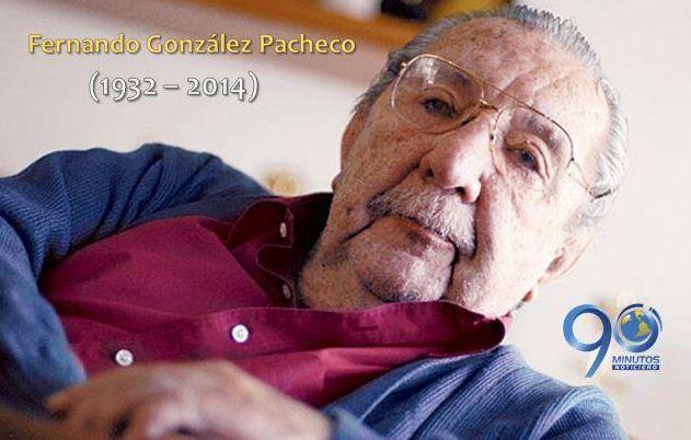 Luto en Colombia por muerte Fernando González Pacheco