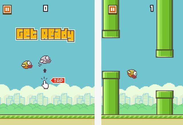 La exitosa aplicación Flappy Bird fue eliminada del mercado por su creador