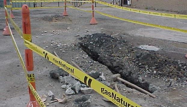 Controlado daño en tubería de gas natural al sur de Cali