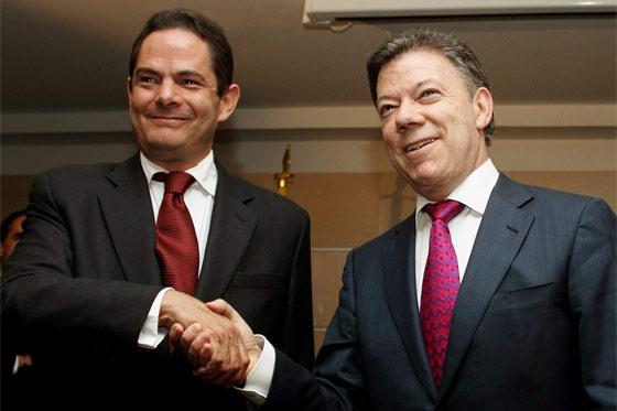 Vargas Lleras será la fórmula vicepresidencial de Santos