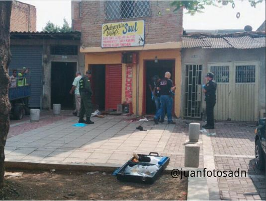 Lanzan una granada en el barrio Conquistadores