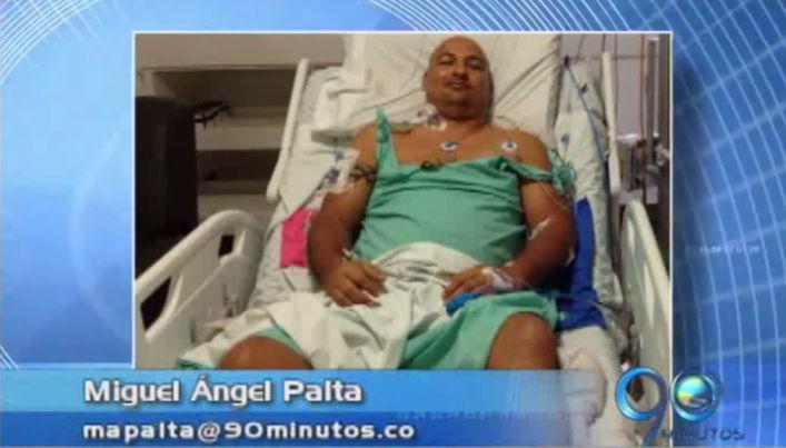 El abogado Alaín Mina permanece bajo observación médica