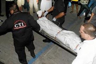 Hombre asesinado con arma blanca