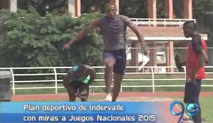 El plan deportivo de Indervalle con miras a Juegos Nacionales 2015
