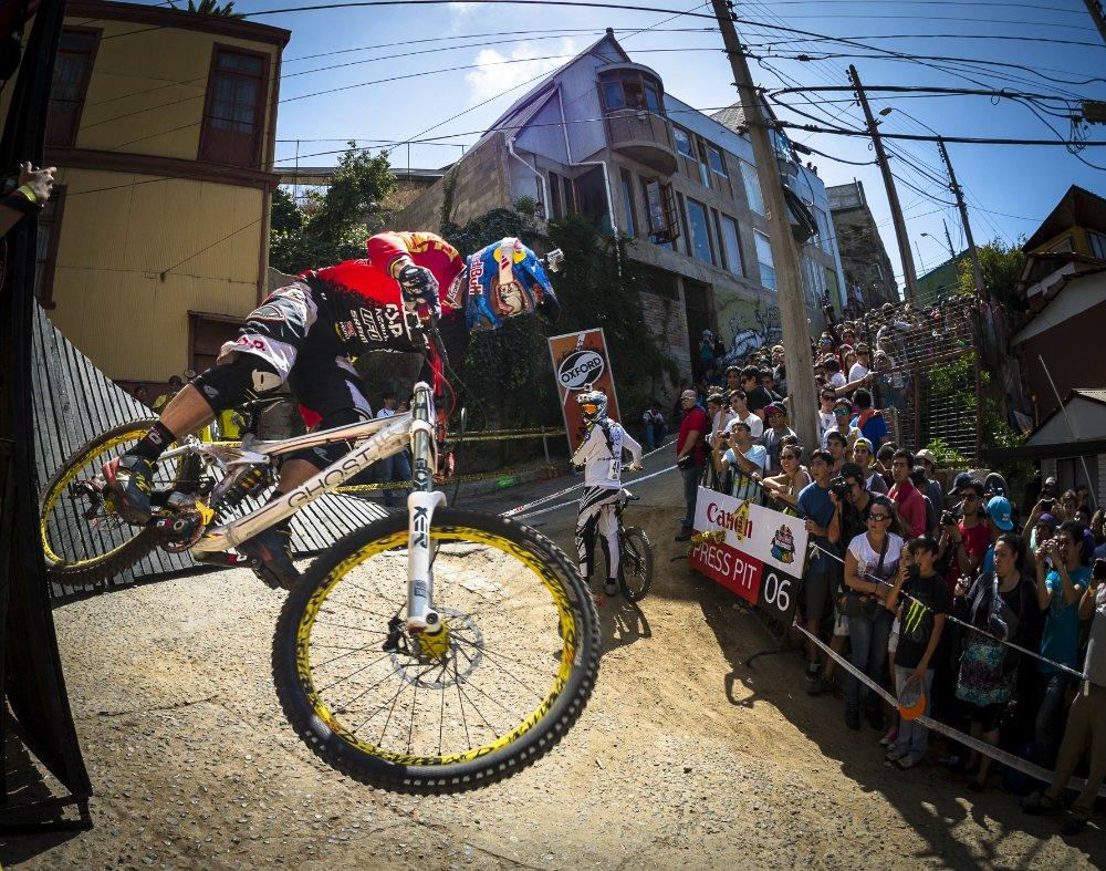 Un colombiano se lleva el segundo lugar en el evento Valparaíso Cerro Abajo