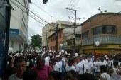 Cientos de chocoanos marchan por la Paz y la Unidad