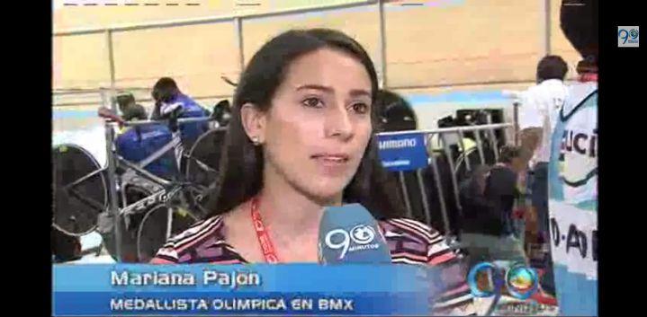 Mariana Pajón invitada de honor en el Mundial de Pista de Cali 2014
